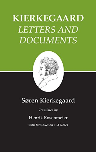 9780691140834: Kierkegaard's Writings, XXV: Letters and Documents