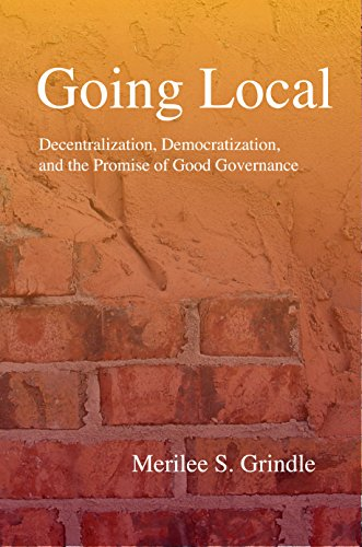 9780691140988: Going Local: Decentralization, Democratization, and the Promise of Good Governance