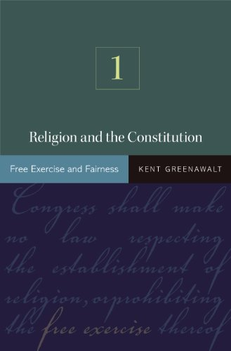 9780691141138: Religion and the Constitution, Volume 1: Free Exercise and Fairness