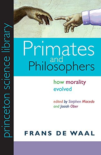 9780691141299: Primates and Philosophers: How Morality Evolved (Princeton Science Library)