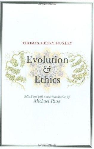 9780691141305: Evolution and Ethics