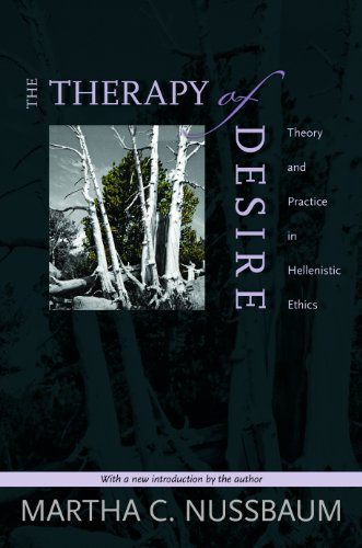 9780691141312: The Therapy of Desire: Theory and Practice in Hellenistic Ethics (Martin Classical Lectures) (Princeton Classics)