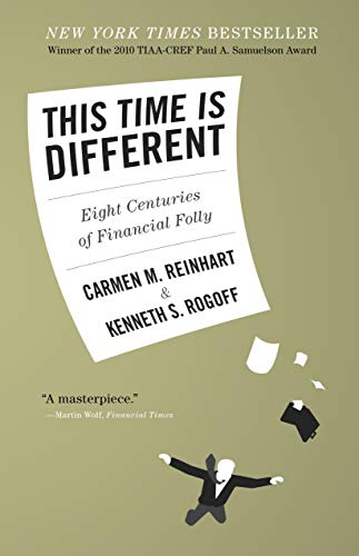 9780691142166: This Time Is Different: Eight Centuries of Financial Folly
