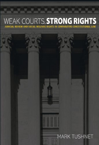 9780691143200: Weak Courts, Strong Rights: Judicial Review and Social Welfare Rights in Comparative Constitutional Law