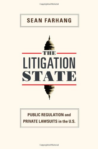 9780691143828: The Litigation State: Public Regulation and Private Lawsuits in the United States (Princeton Studies in American Politics: Historical, International, and Comparative Perspectives)