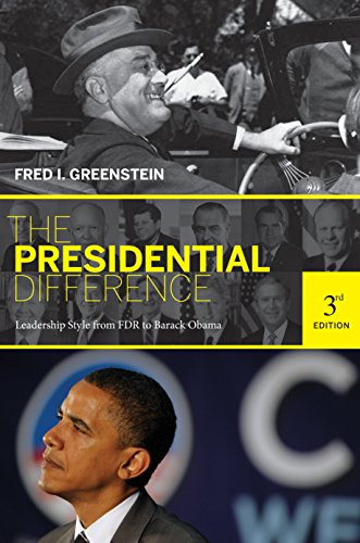 9780691143835: The Presidential Difference: Leadership Style from FDR to Barack Obama, Third Edition