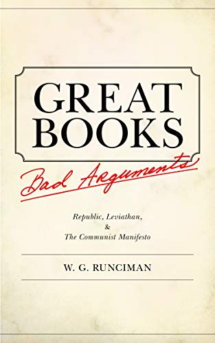 9780691144764: Great Books, Bad Arguments: Republic, Leviathan, & The Communist Manifesto