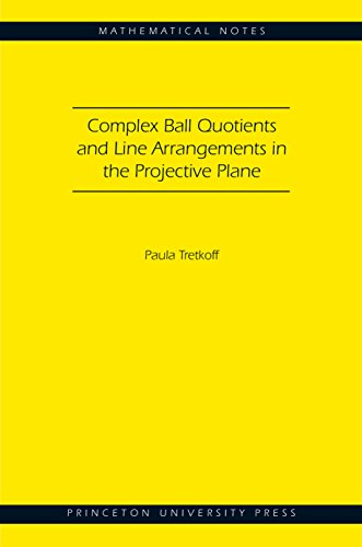 Complex Ball Quotients and Line Arrangements in the Projective Plane (MN-51) (Paperback): Paula ...