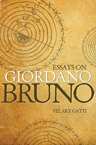 9780691145747: Essays on Giordano Bruno