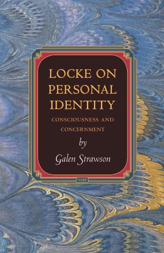 9780691147574: Locke on Personal Identity: Consciousness and Concernment (Princeton Monographs in Philosophy)