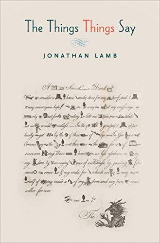The Things Things Say: Lamb, Jonathan