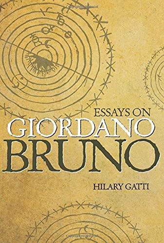9780691148397: Essays on Giordano Bruno