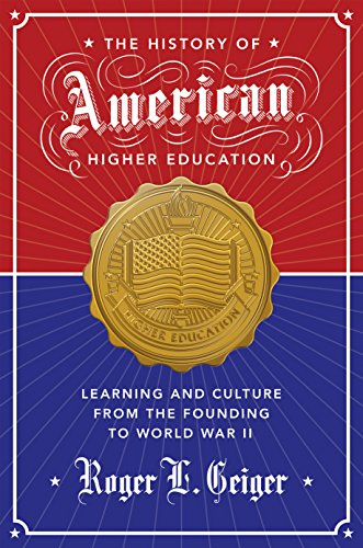 History of American Higher Education: Geiger, Roger