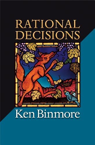 9780691149899: Rational Decisions (The Gorman Lectures in Economics)