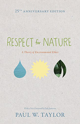 9780691150246: Respect for Nature: A Theory of Environmental Ethics (Studies in Moral, Political, and Legal Philosophy)
