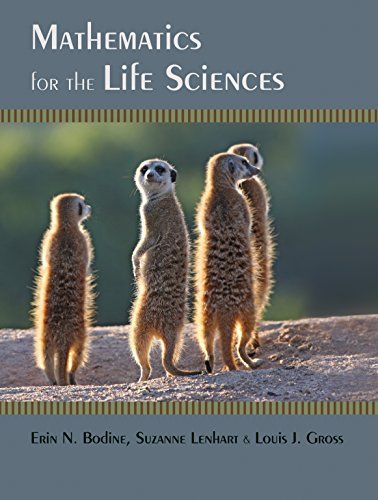 9780691150727: Mathematics for the Life Sciences