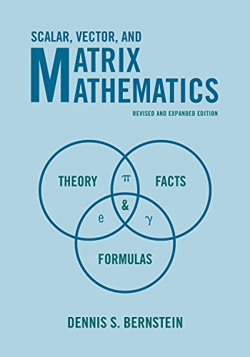 9780691151205: Scalar, Vector, and Matrix Mathematics: Theory, Facts, and Formulas