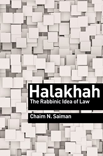 9780691152110: Halakhah - The Rabbinic Idea of Law