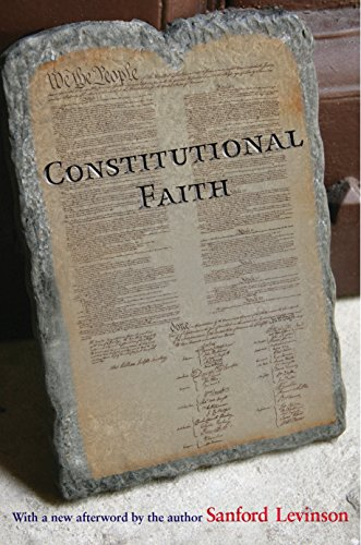 9780691152400: Constitutional Faith
