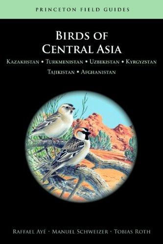 9780691153377: Birds of Central Asia: Kazakhstan, Turkmenistan, Uzbekistan, Kyrgyzstan, Tajikistan, Afghanistan (Princeton Field Guides)