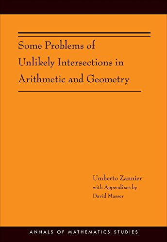 9780691153704: Some Problems of Unlikely Intersections in Arithmetic and Geometry (AM-181) (Annals of Mathematics Studies)