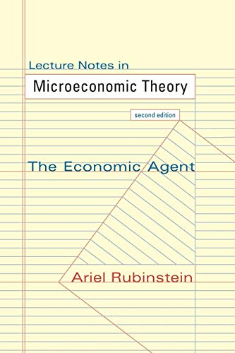 9780691154138: Lecture Notes in Microeconomic Theory: The Economic Agent