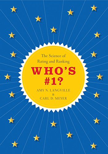 9780691154220: Who's #1?: The Science of Rating and Ranking