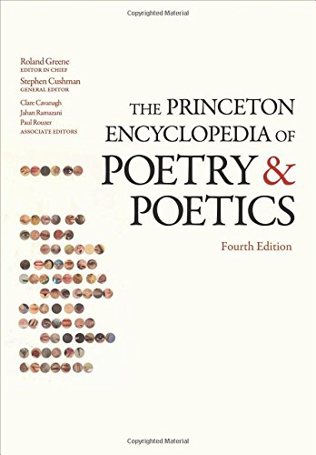 9780691154916: The Princeton Encyclopedia of Poetry and Poetics