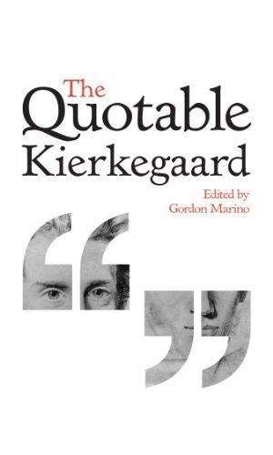 9780691155302: The Quotable Kierkegaard