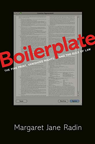 9780691155333: Boilerplate: The Fine Print, Vanishing Rights, and the Rule of Law
