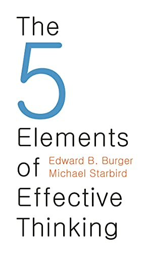 9780691156668: The 5 Elements of Effective Thinking