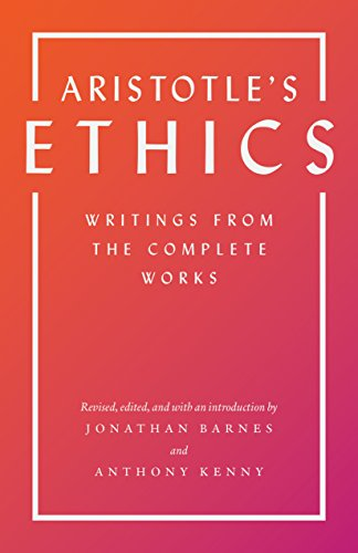 9780691158464: Aristotle's Ethics: Writings from the Complete Works
