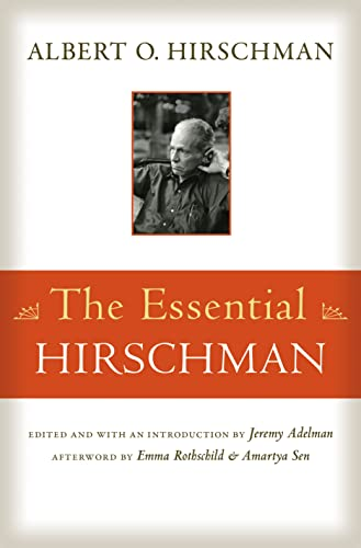9780691159904: The Essential Hirschman