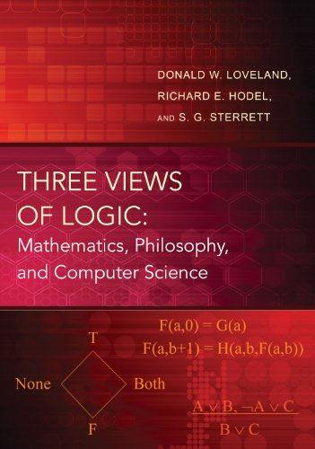 9780691160443: Three Views of Logic: Mathematics, Philosophy, and Computer Science