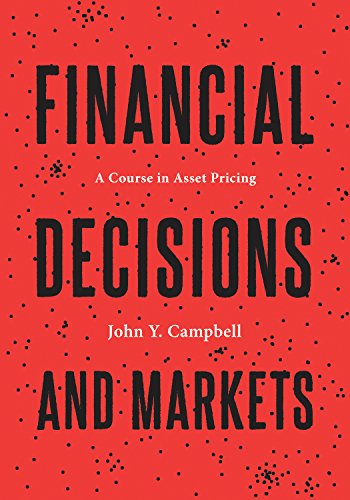 9780691160801: Financial Decisions and Markets: A Course in Asset Pricing