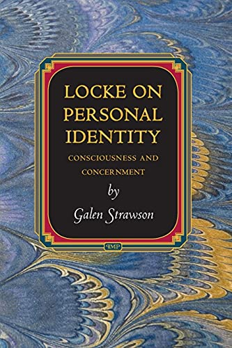 9780691161006: Locke on Personal Identity: Consciousness and Concernment (Princeton Monographs in Philosophy)