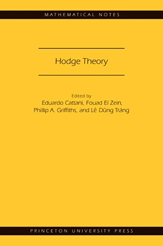 9780691161341: Hodge Theory (MN-49) (Mathematical Notes)