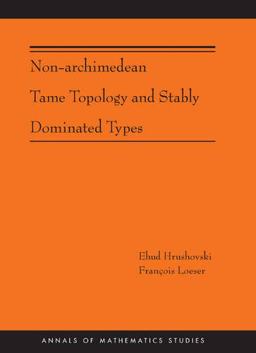 Non-Archimedean Tame Topology and Stably Dominated Types: Hrushovski, Ehud; Loeser, Francois