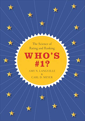 9780691162317: Who's #1?: The Science of Rating and Ranking