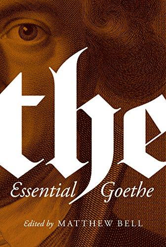 9780691162904: The Essential Goethe