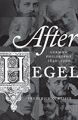 9780691163093: After Hegel: German Philosophy, 1840-1900