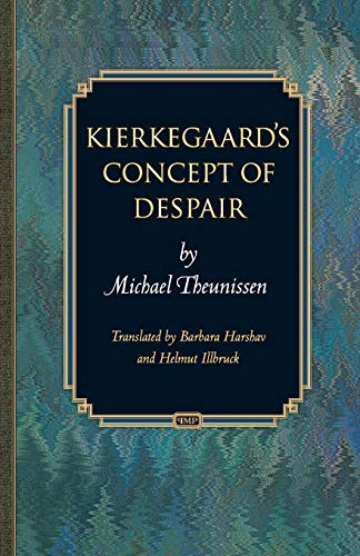 9780691163123: Kierkegaard's Concept of Despair (Princeton Monographs in Philosophy)