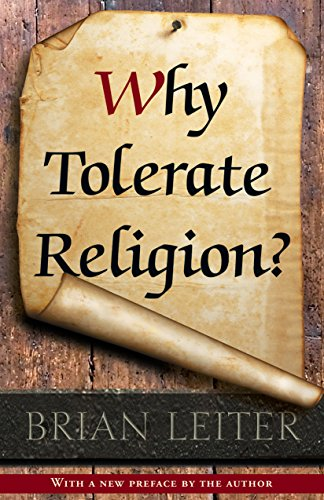 9780691163543: Why Tolerate Religion?