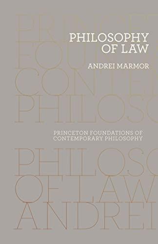 9780691163963: Philosophy of Law