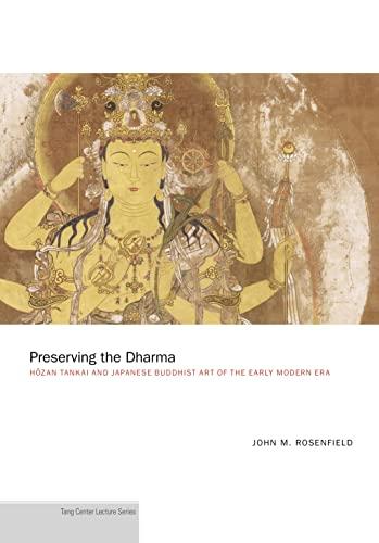 9780691163970: Preserving the Dharma ? HÅ zan Tankai and Japanese Japanese Buddhist Art of the Early Modern Era