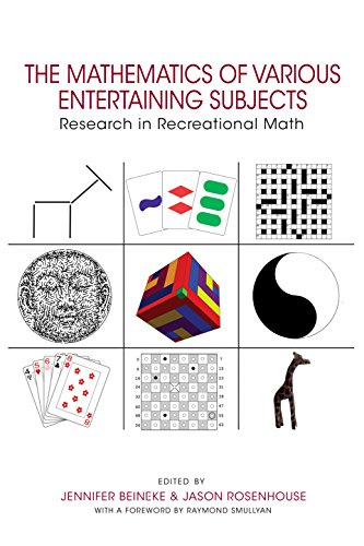 9780691164038: The Mathematics of Various Entertaining Subjects: Research in Recreational Math