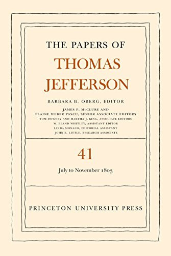 9780691164205: The Papers of Thomas Jefferson, Volume 41: 11 July to 15 November 1803