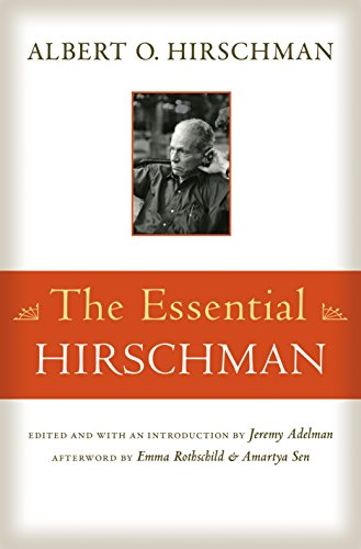 9780691165677: The Essential Hirschman