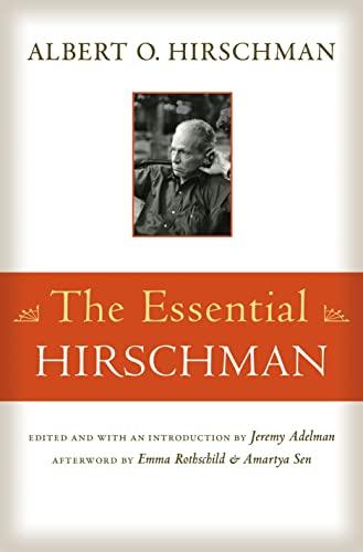 9780691165677: The Essenrial Hirschman