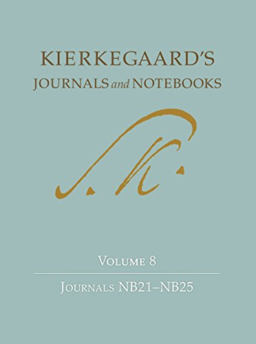 9780691166186: Kierkegaard's Journals and Notebooks: Volume 8: Journals NB21-NB25